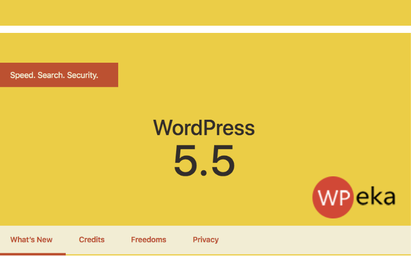 WordPres 5.5