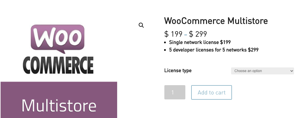 WooMultistore pricing - WooCommerce Multistore